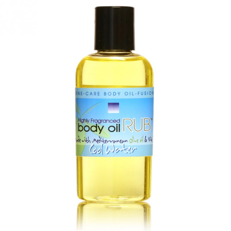 body oil RUB 2oz<br>Cool Water