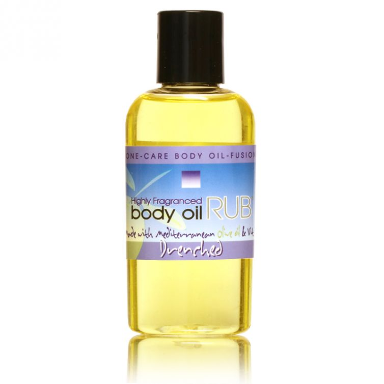 body oil RUB 2oz<br>Drenched