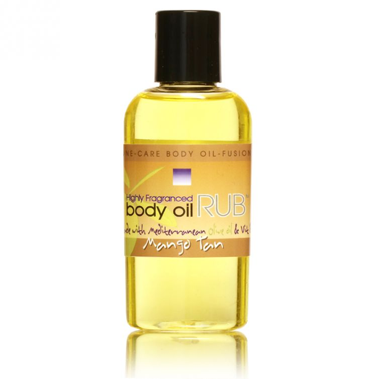 body oil RUB 2oz<br>Mango Tan