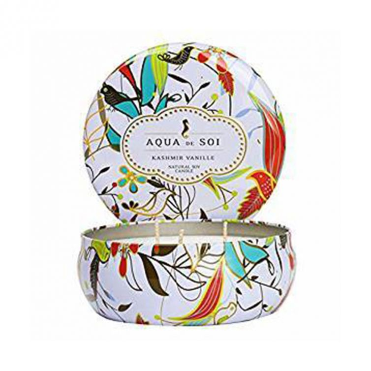 Candle Tin 3 Wick<br>Kashmire Vanilla