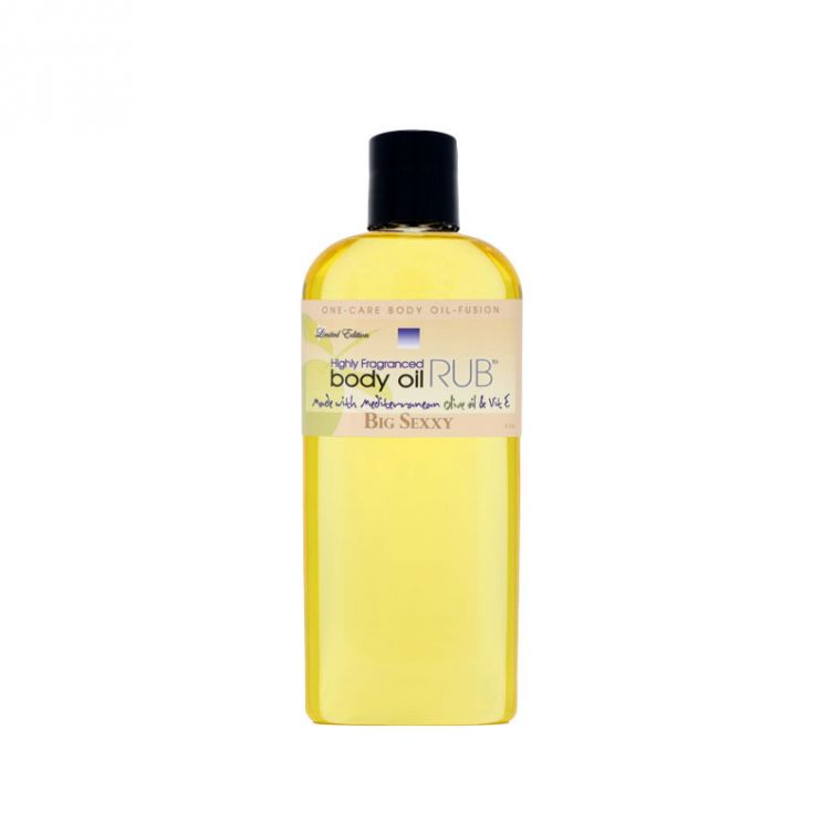 body oil RUB 8oz<br>Big Sexxy<br>Limited Edition