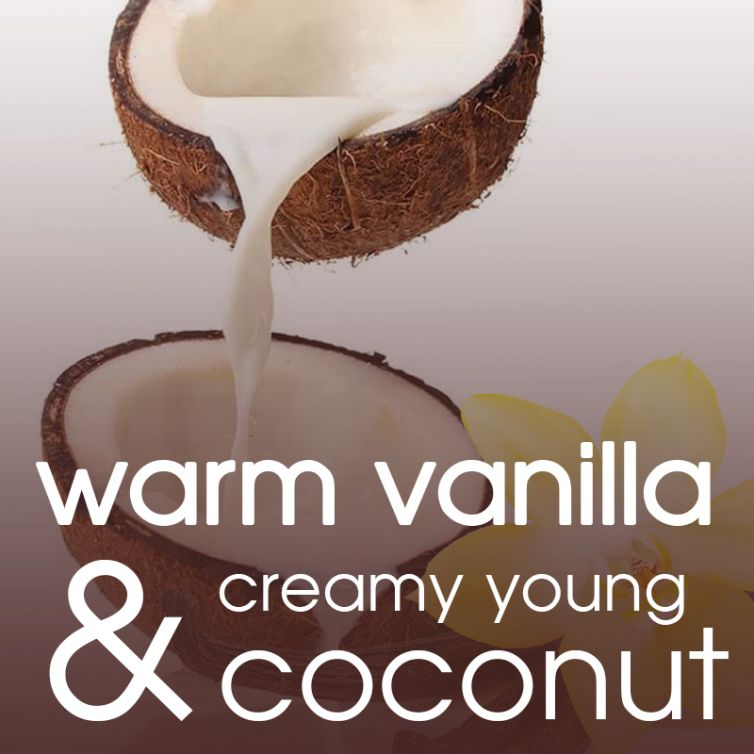 body oil RUB 2oz<br>Coconut Vanilla