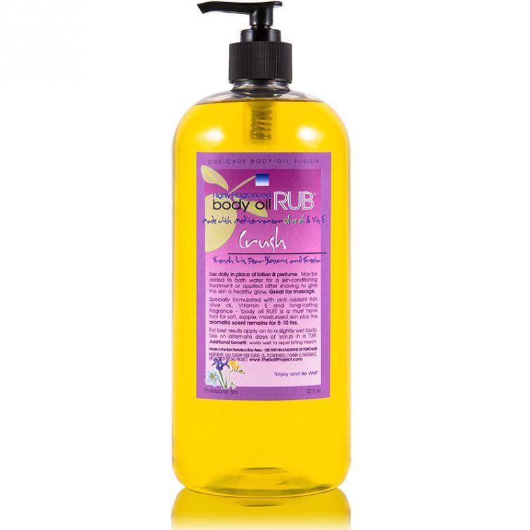 body oil RUB 32oz<br>Crush