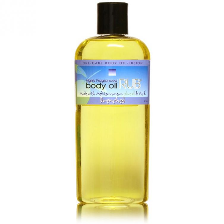 body oil RUB 8oz<br>Drenched