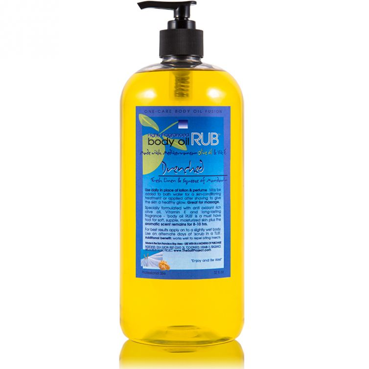 body oil RUB 32oz<br>Drenched