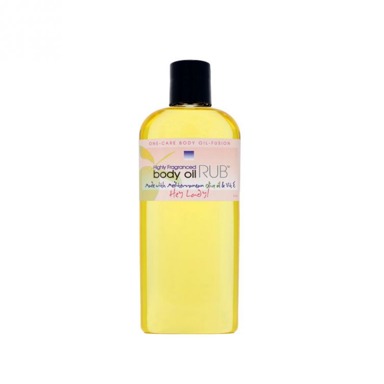 body oil RUB 8oz<br>Hey Lady<br>Limited Edition