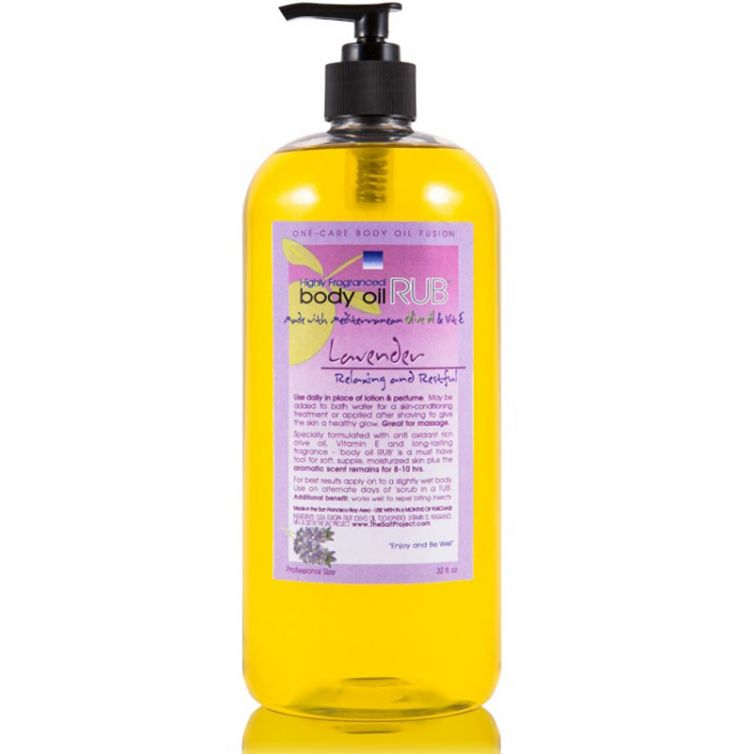 body oil RUB 32oz<br>Lavender