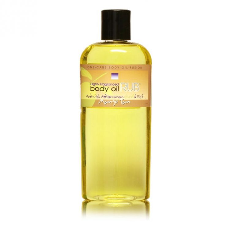 body oil RUB 8oz<br>Mango Tan