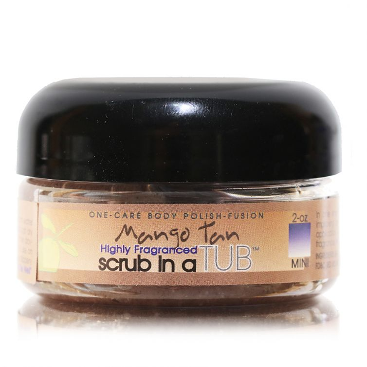 scrub in a TUB 3oz <br> Mango Tan