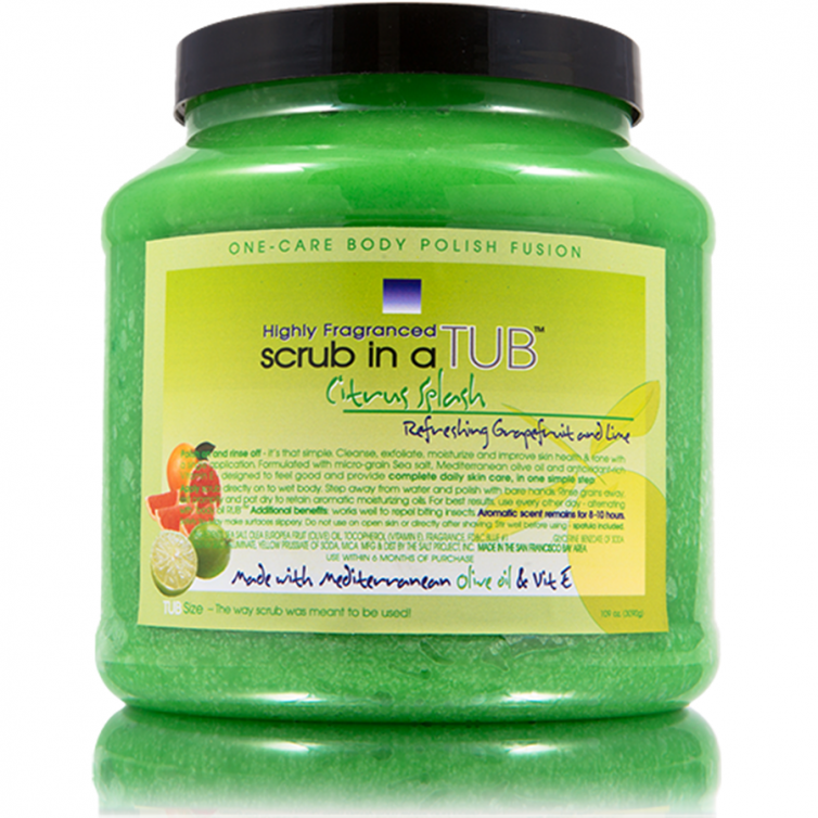 scrub in a TUB 109oz<br>Citrus Splash