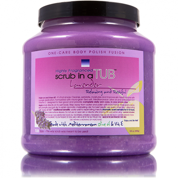 scrub in a TUB 109oz<br>Lavender
