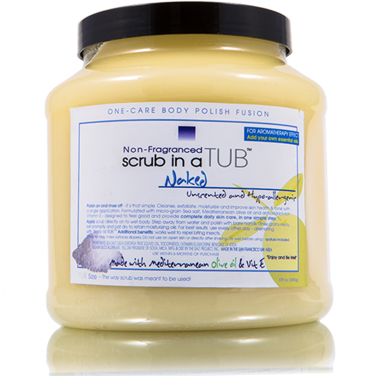 BUY ONE GET ONE<br> scrub in a TUB 109oz<br>Favorite Scent + Naked