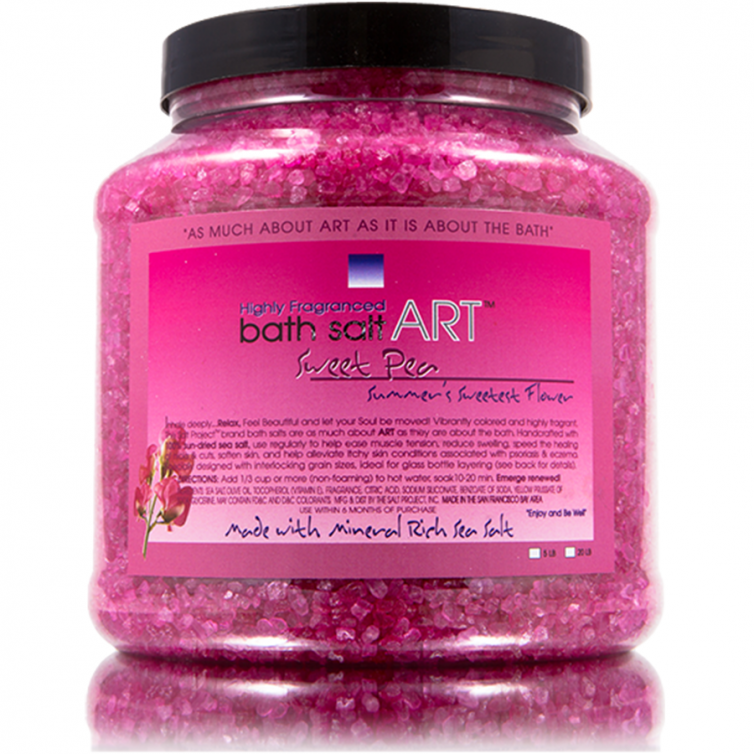 bath salt ART 5LB<br>Sweet Pea