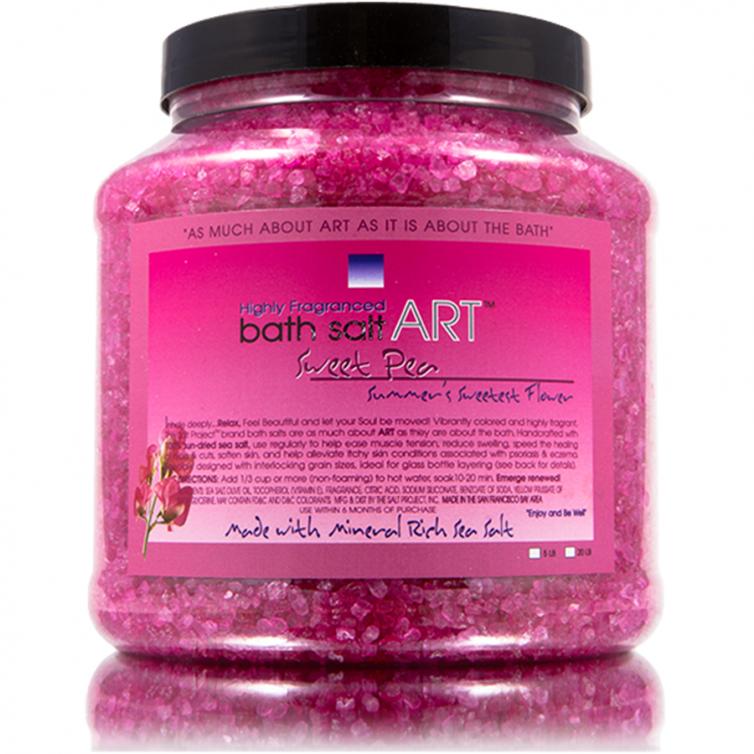 bath salt ART 5LB<br>Sweet Pea