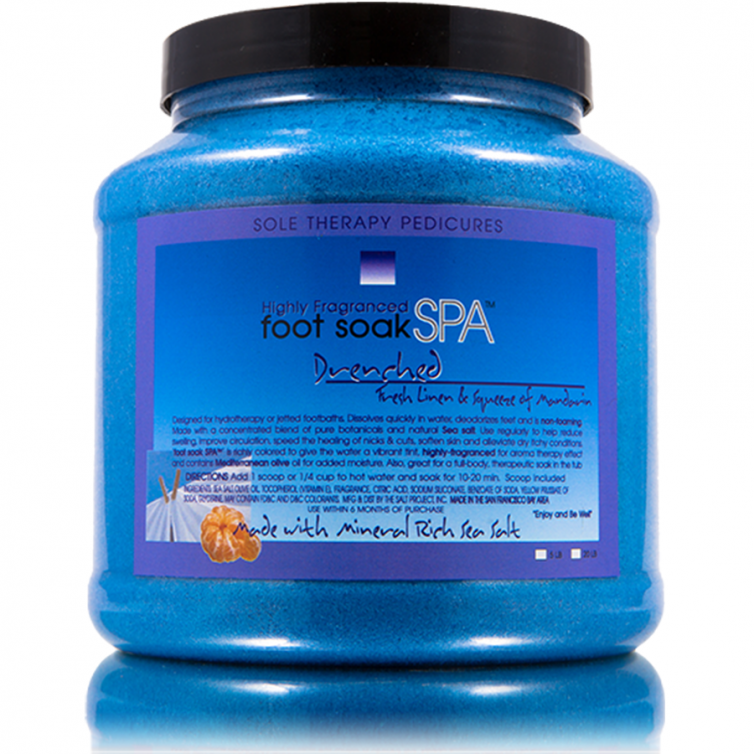 foot soak SPA 5LB<br>Drenched