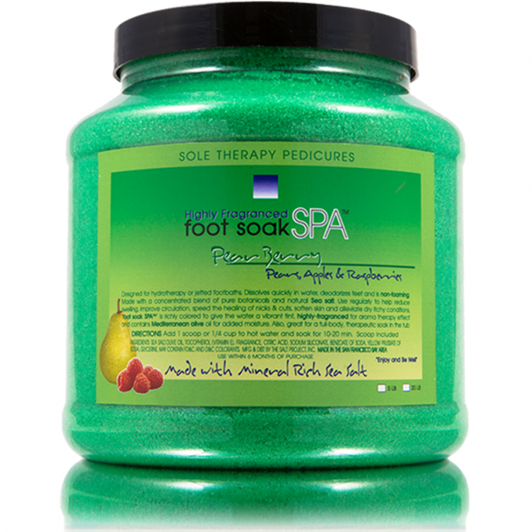 foot soak SPA 5LB<br>Pear Berry
