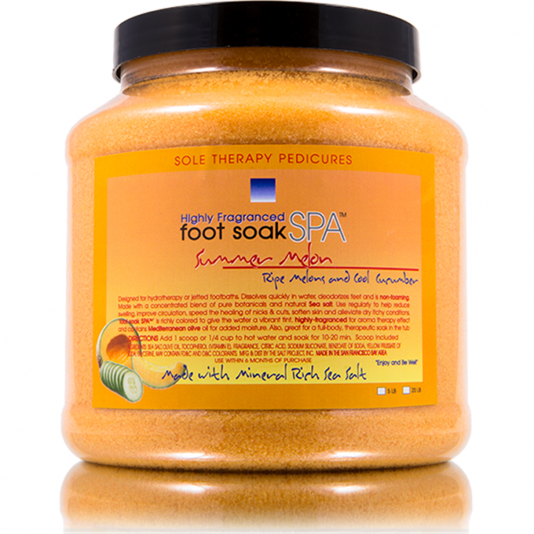 foot soak SPA 5LB<br>Summer Melon